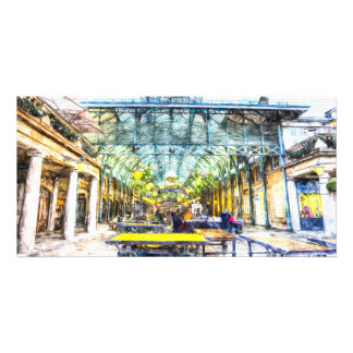 Covent Garden Market London Art Photo Greeting Card