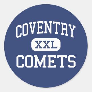 Coventry - Comets - High School - Akron Ohio Classic Round Sticker