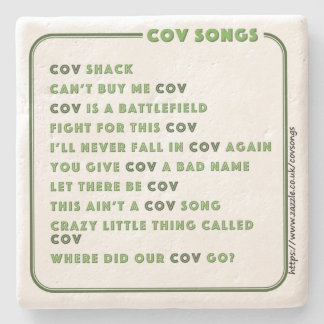 Coventry CovSongs drinks coaster C