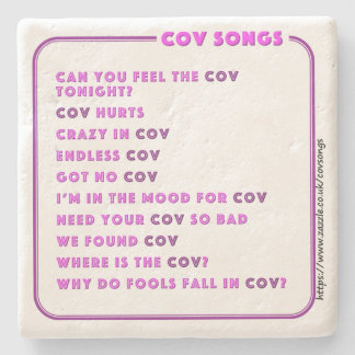 Coventry CovSongs drinks coaster D