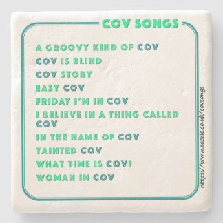 Coventry CovSongs drinks coaster F