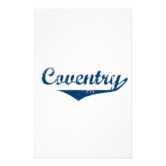 Coventry Customized Stationery