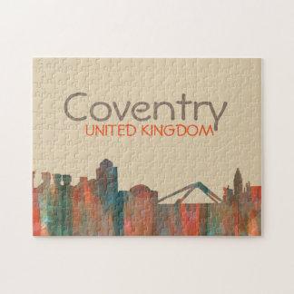 Coventry England Skyline-Navaho Jigsaw Puzzle