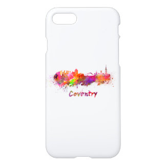 Coventry skyline in watercolor iPhone 8/7 case