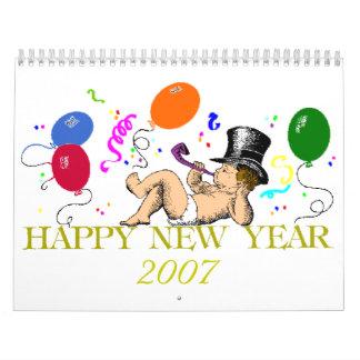 cover, 2007 wall calendar