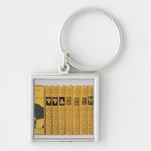 Cover and spine designs for 'The Yellow Book', Vol Key Chain