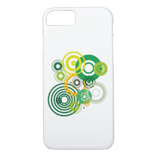 Cover for IPhone with green circles
