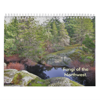 Cover , Fungi of the Northwest. Calendar