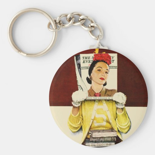 Cover Girl Keychains