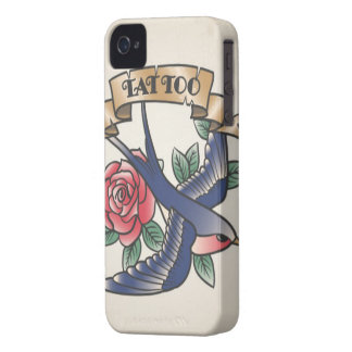 Cover housing for Smartphone Vintage Tattoo