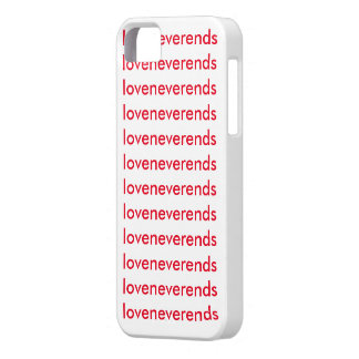 """Cover i phone """"love to never ends """""""