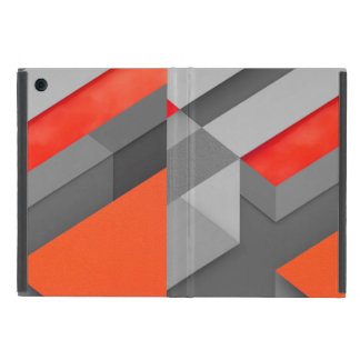 cover ipad mini Marshmallow Orange Triangle Patter Covers For iPad Mini