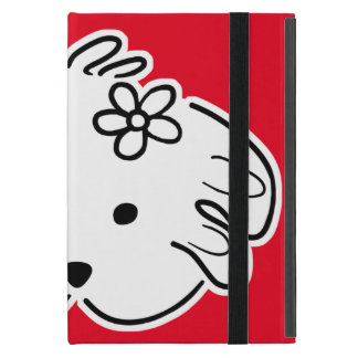 Cover iPad, red, young, the world of Lua iPad Mini Cases