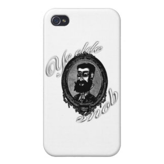 Cover iPhone 4 - Ye Olde Snob iPhone 4/4S Case