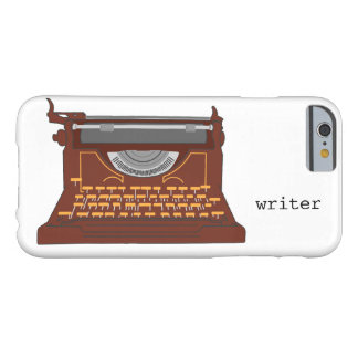 Cover Iphone 6, 6s typewriter vintage. Barely There iPhone 6 Case