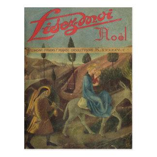 Cover, Lisez-Moi, Road to Bethlehem Postcard