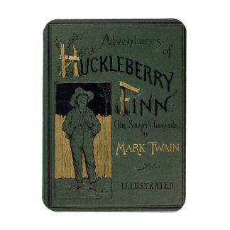 Cover of 'Adventures of Huckleberry Finn' by Mark Magnet