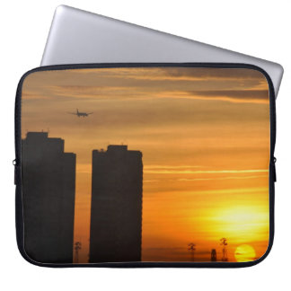 COVER PORTABLE PC BRITISH SUNSET COMPUTER SLEEVE