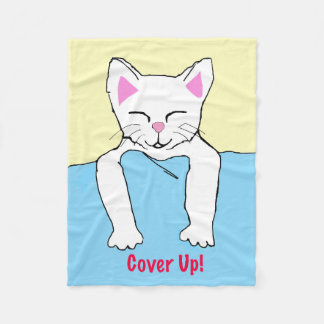 Cover Up!  Kitty Blanket