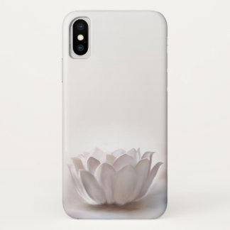 Cover white Lotus Iphone 5