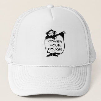 Cover Your Cough! Trucker Hat