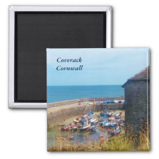 Coverack Harbour The Lizard Cornwall England Magnet