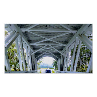 Covered Bridge Drive Poster