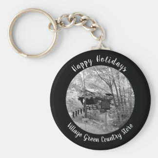 Covered Bridge in New England Keychain