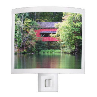 Covered Bridge Night Light