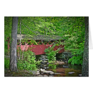 Covered Bridge Notecard