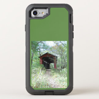 covered bridge OtterBox defender iPhone 8/7 case
