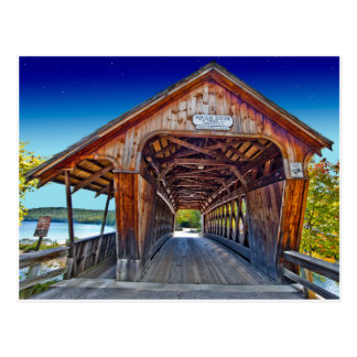 Covered Bridge | Squam River Bridge, Ashland, NH Postcard