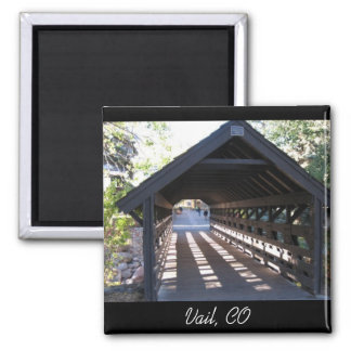 Covered Bridge Vail, CO Magnet