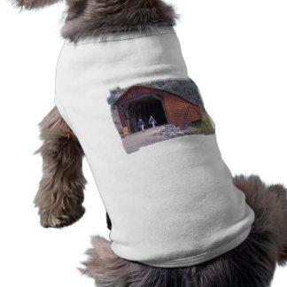 Covered Bridge Walkers Dog Shirt