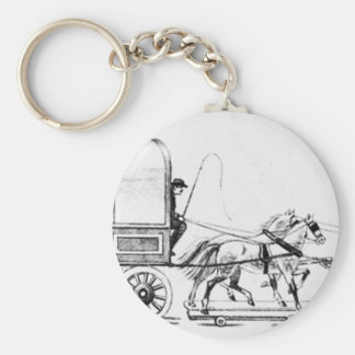 Covered Wagon Key Chains