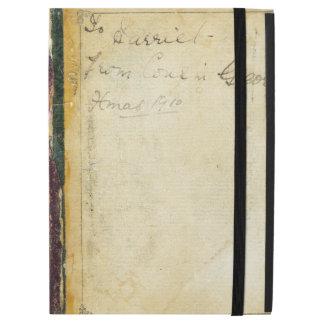 "Coverless Broken Vintage Book From Xmas 1910 iPad Pro 12.9"" Case"