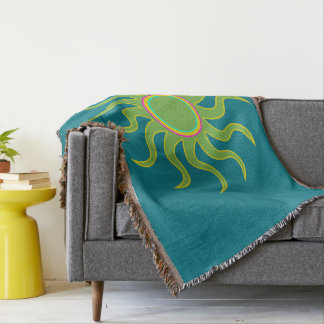 Covers sunny times throw blanket