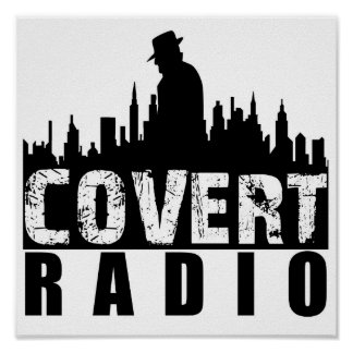 Covert Radio Poster