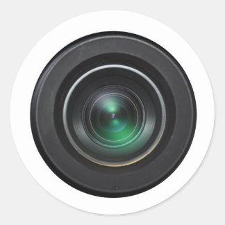 Covertcam Round Sticker