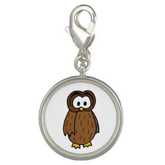 Covey Logic Owl Charm