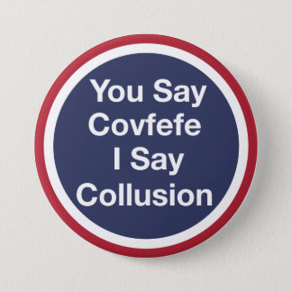Covfefe 3 Inch Round Button