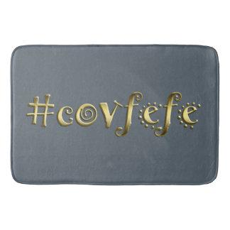 #covfefe! bathroom mat