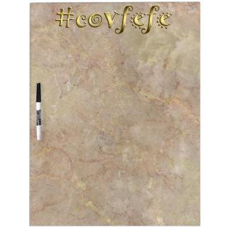 #covfefe! dry erase board
