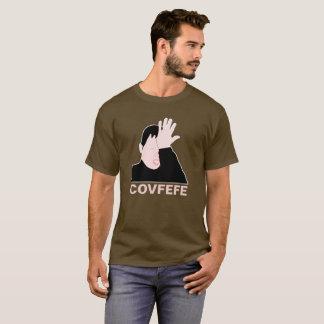 Covfefe facepalm black customizable T-Shirt