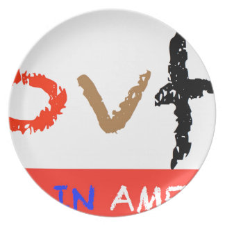 #covfefe Made In America Plate