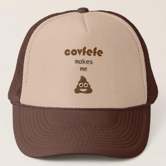 Covfefe makes me poop trucker hat