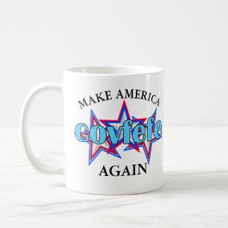 Covfefe   POTUS Humor Make America Covfefe Again Coffee Mug