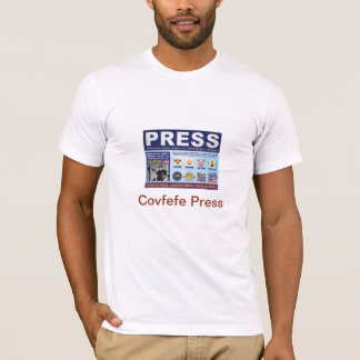 Covfefe Press: T-Shirt (White)