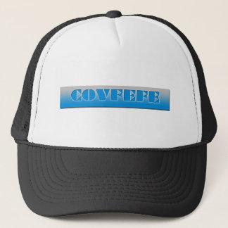 COVFEFE TEE TRUCKER HAT