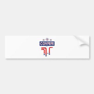 Covfefe Trump Joke for 4th of July Celebration Bumper Sticker